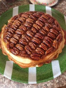 Carolyn Mantia Apple Pecan Upside Down Pie