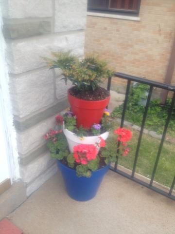Flower pot art 1