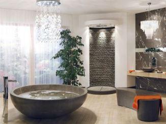 Bathroom bowl like tub