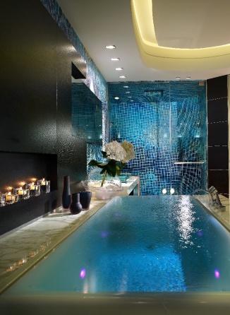 bathroom infinity tub