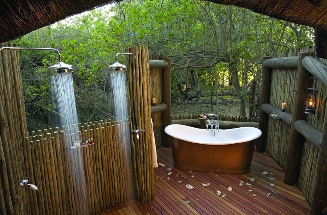bathroom outdoor