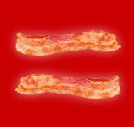 equal bacon