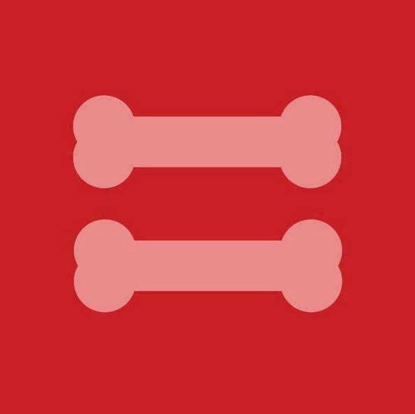 equality dog bone
