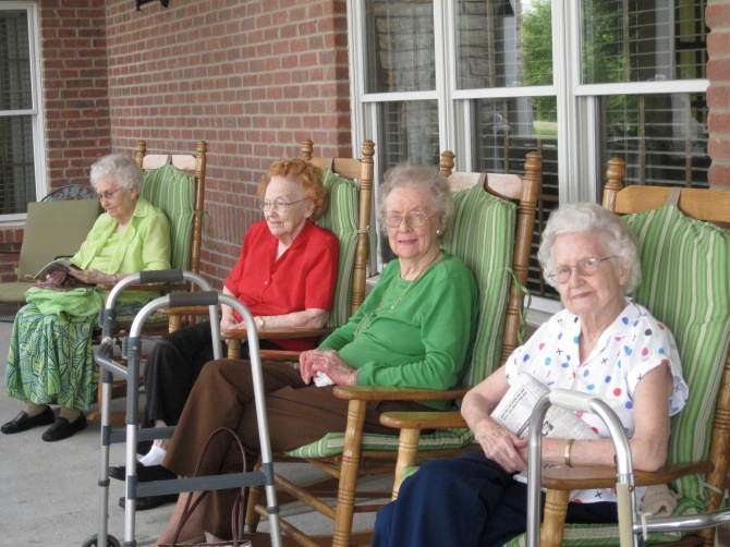 front porch ladies