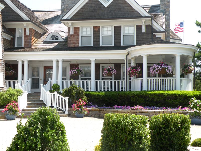 Fabulous Front Porches To Dream About Just My 2 Cents