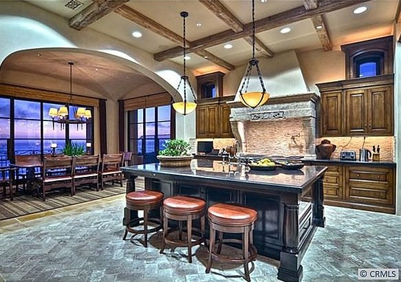 You are where you eat amazing kitchens just my 2 cents carolyn mantia - Awesome kitchen from stone more cheerful ...