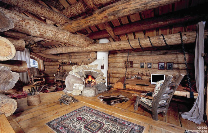 great room 9 rustic
