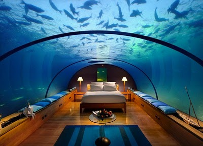 master bedroom aquarium