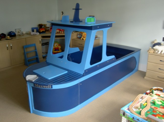 tugboat bedroom