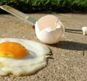 hot egg