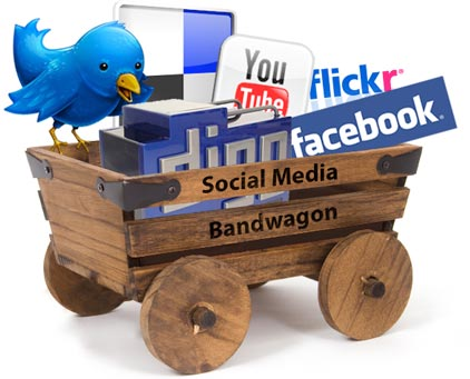 social media band wagon