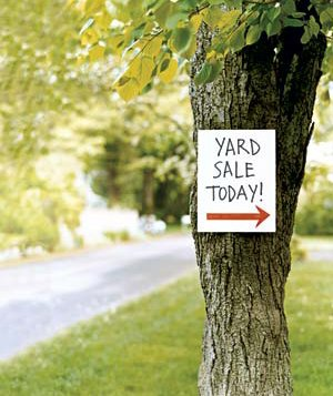 yard sale sign 2