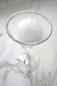 martini snow ball