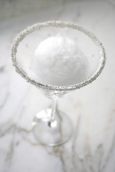 martini snow ball