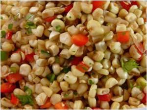 patriotic corn salsa