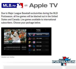 apple tv mlb