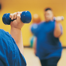 Exercising-