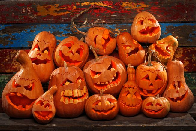 pumpkins-carved